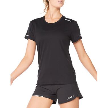 T-Shirt 2XU AERO Femme Manches Courtes Noir 2021